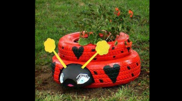 joaninha de pneu