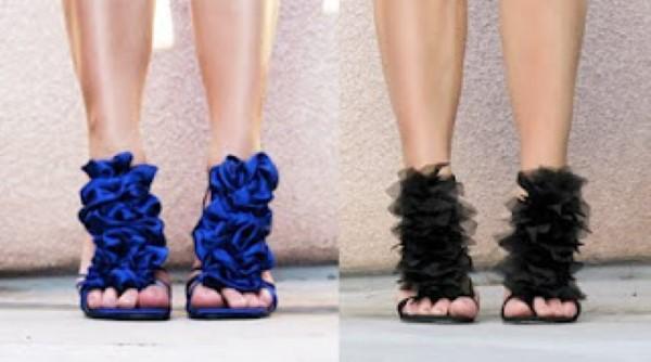 customizar sapato alto