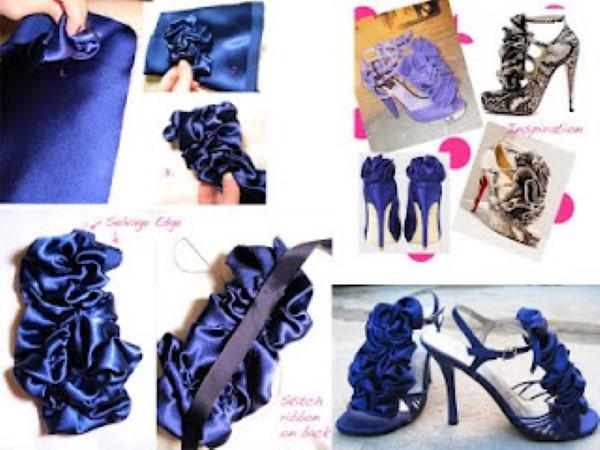 customizar sapato passo a passo