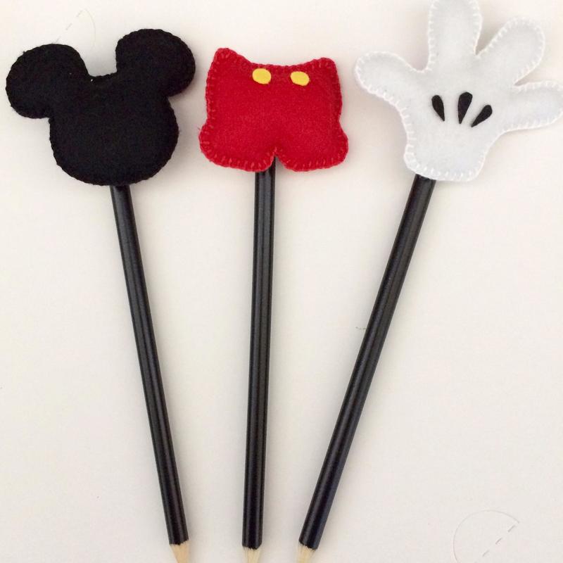 ponteira de lapis do Mickey