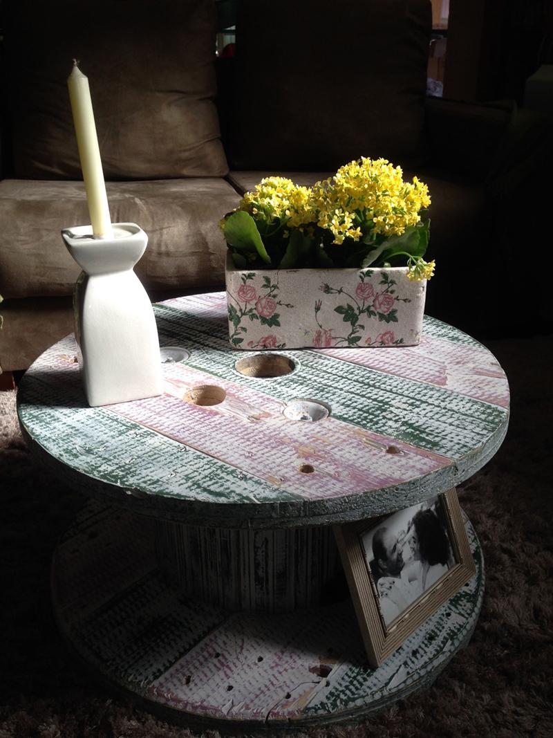 pintura pátina em mesa