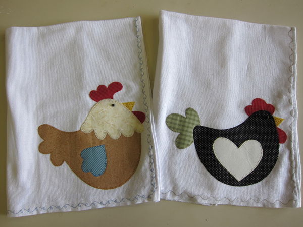 patchwork galinha