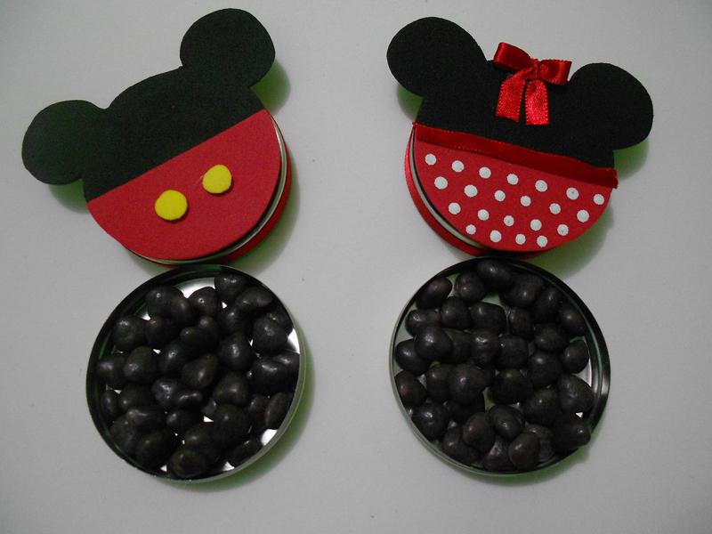 latinha do Mickey