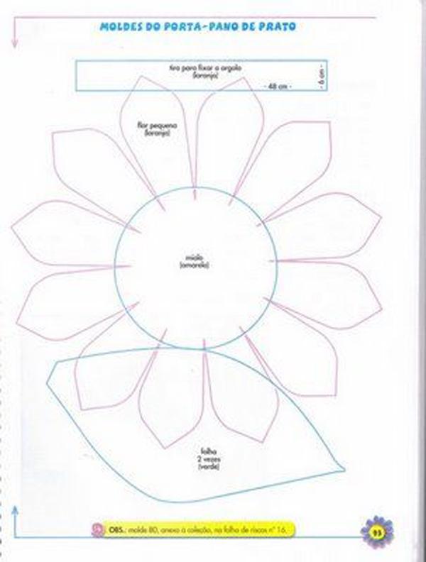 flor em EVA simples