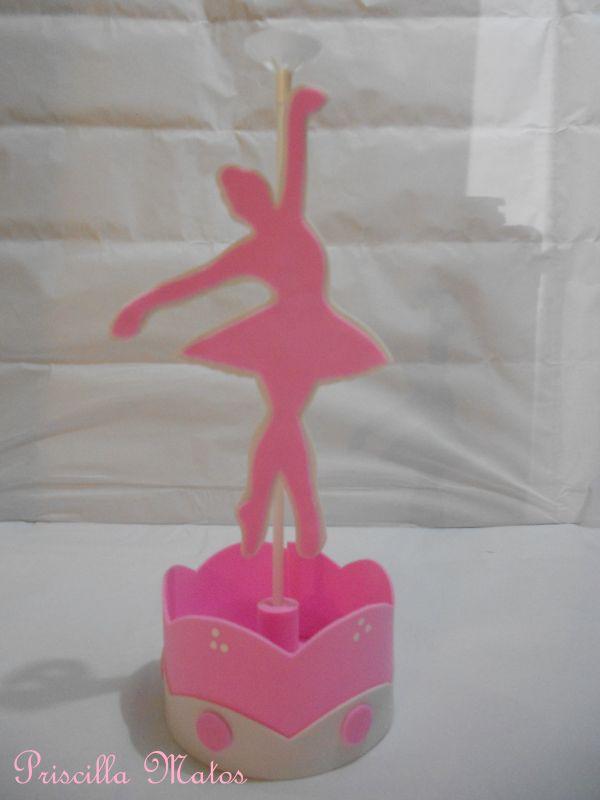 bailarina centro de mesa
