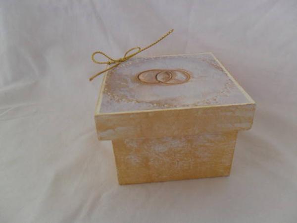 lembrança bodas de ouro caixa