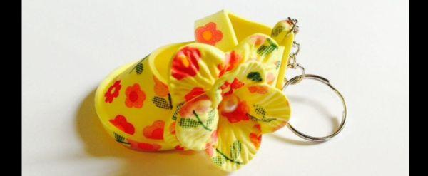 sapato de eva flor