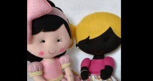 15 Fotos de Bonecas de Feltro