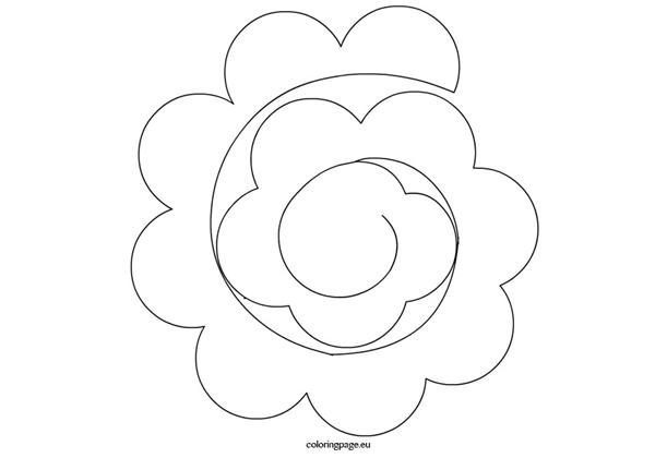 20 Moldes De Rosas Para Imprimir Artesanato Passo A Passo