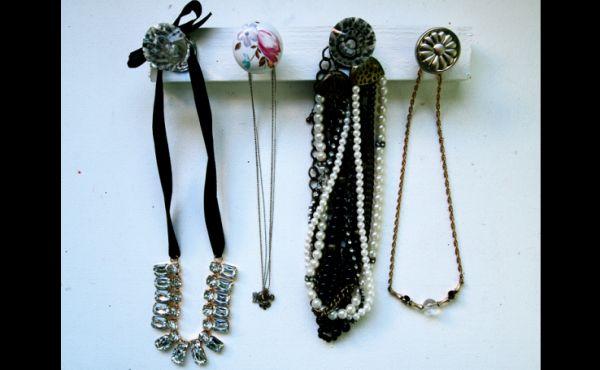 porta joias com gancho