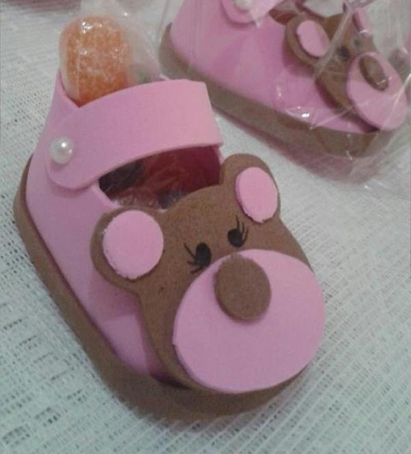 sapato de eva ursa