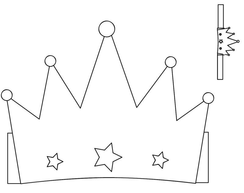 coroa em feltro estrela