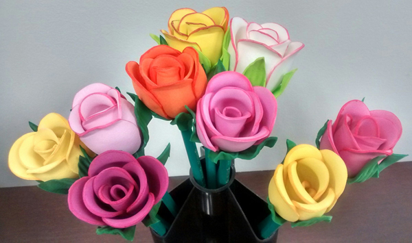 rosas eva