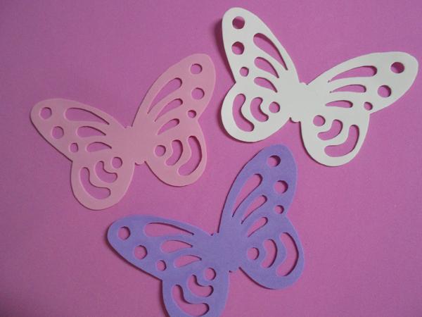 borboleta vazada