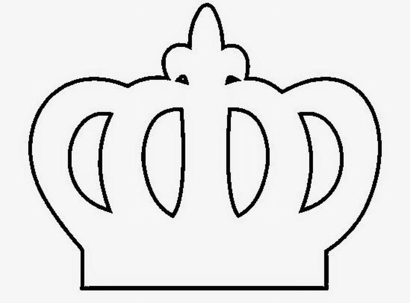 coroa em feltro rei rainha