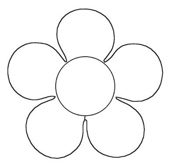 flor em EVA comum