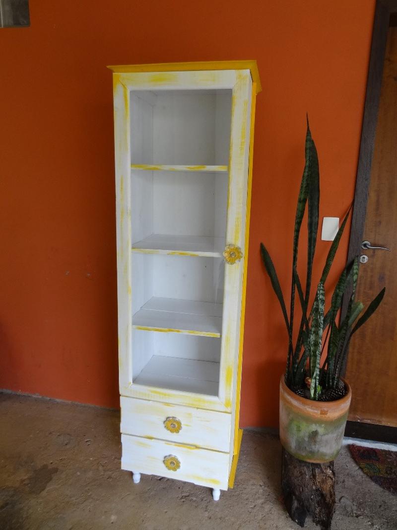pintura pátina amarela
