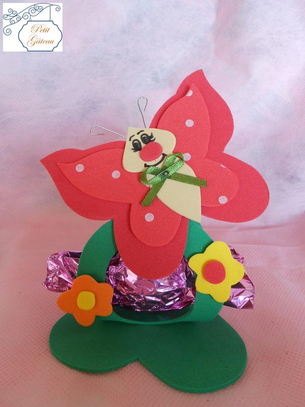borboleta com carinha