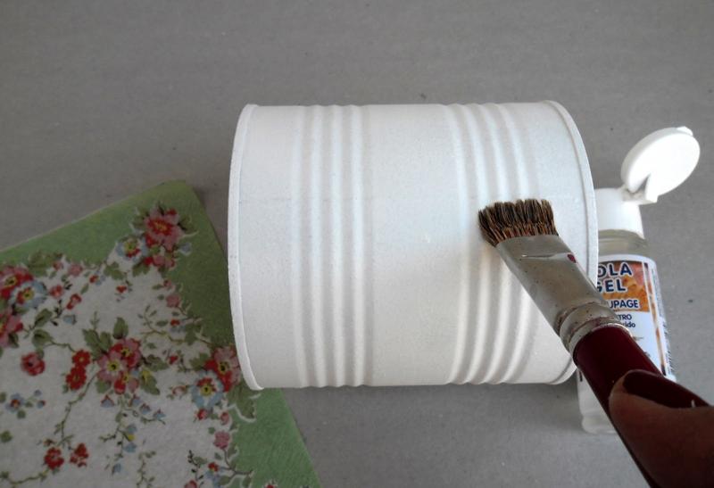lata de leite decorada passo a passo