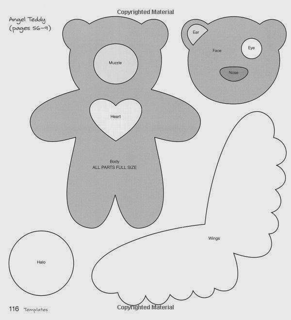 urso de anjo