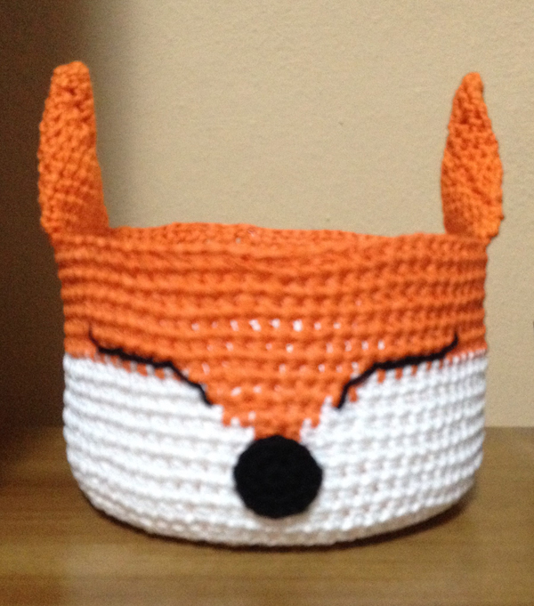 raposa  croche endurecido