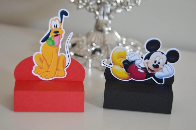caixa do Mickey papel