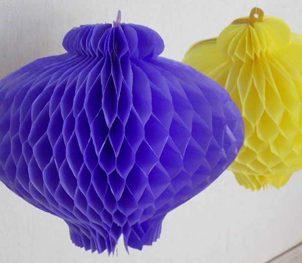 balão com papel de festa junina