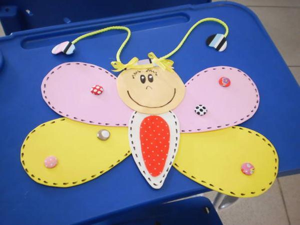 borboleta infantil