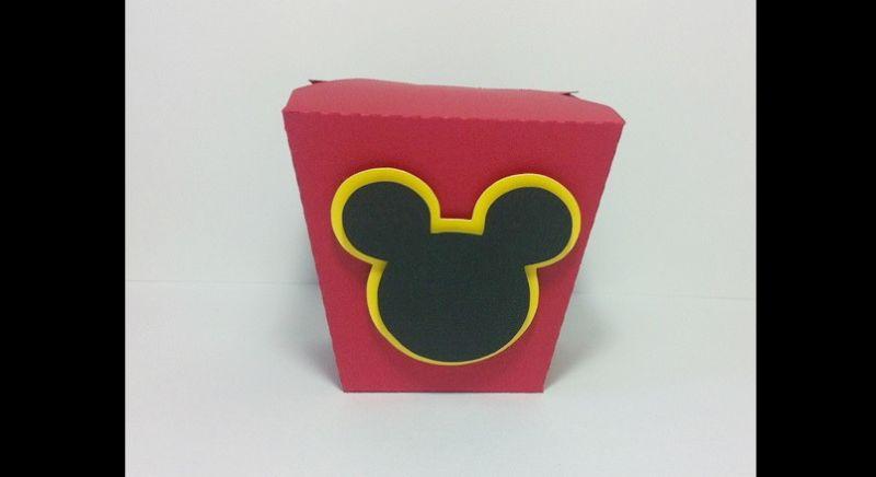 caixa eva do Mickey