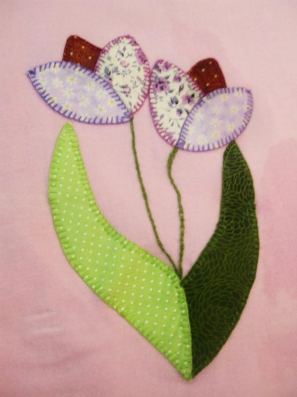 patchwork de flor