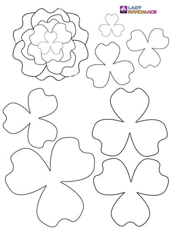 flores de tecido para cabelo