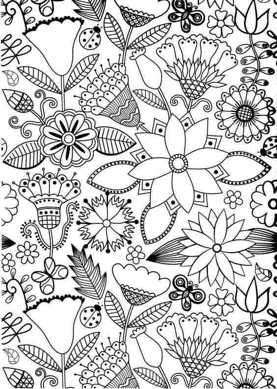 Moldes De Flores Para Imprimir Desenhos Ideias Como Fazer