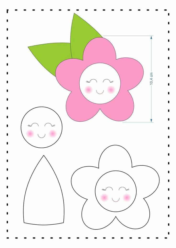 flores de patchwork passo a passo