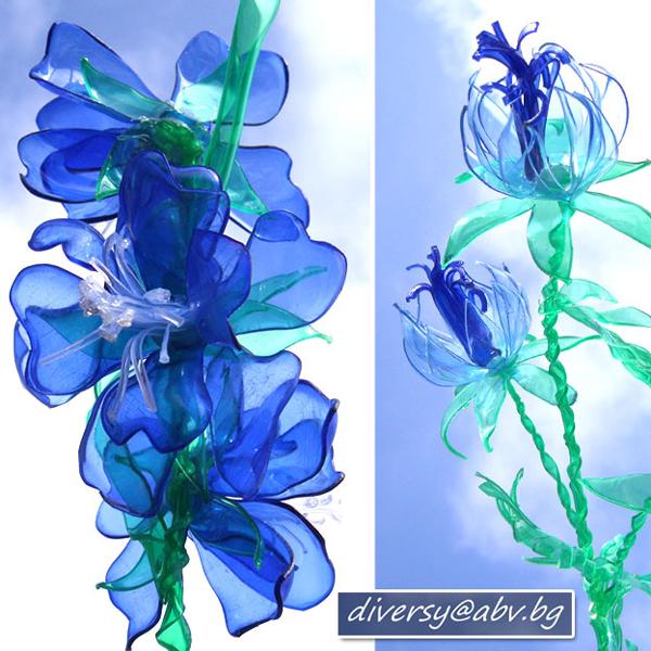 flor de garrafa pet bonita