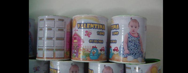 lata de leite decorada aniversario