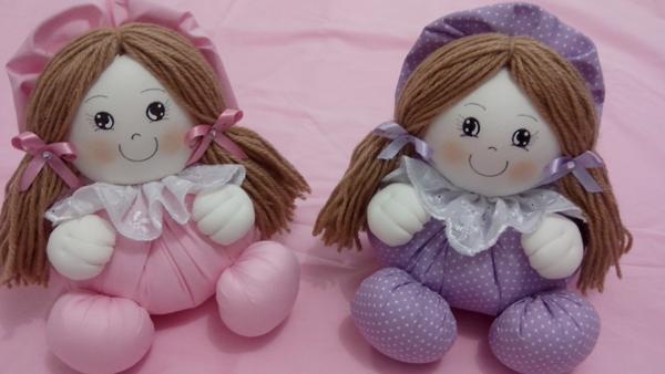boneca de tecido simpatica