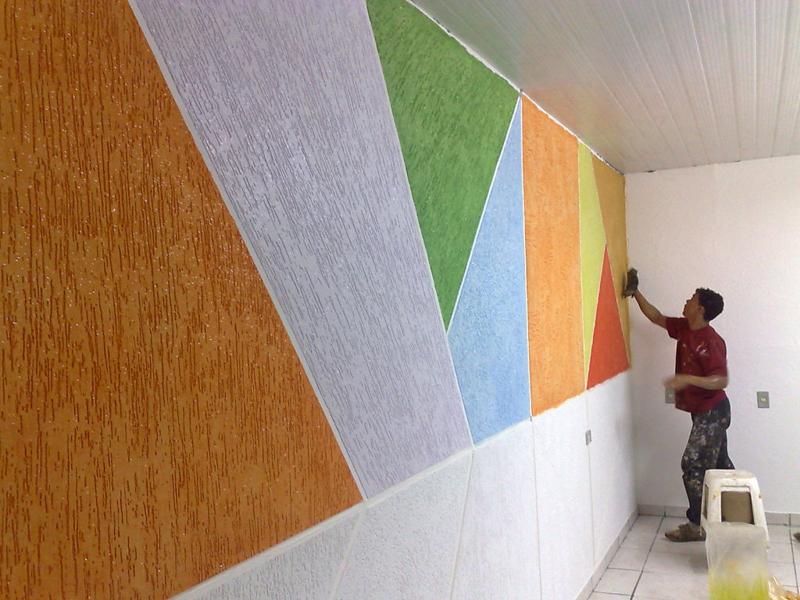 grafiato colorido