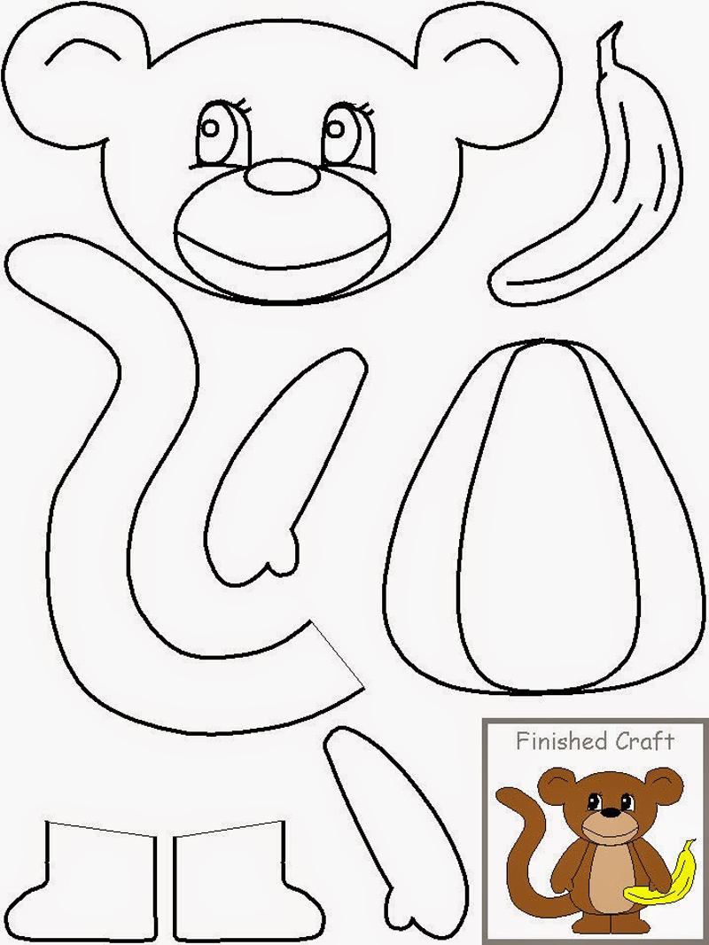 molde de macaco
