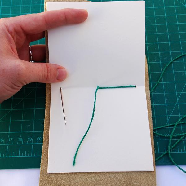 encadernação manual simples