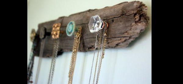 porta joias com tronco