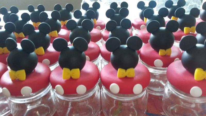 lembrança do Mickey