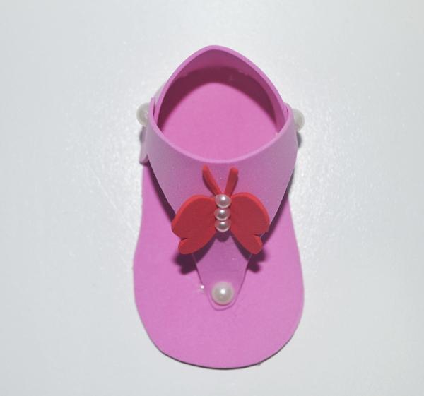 sapato de eva borboleta