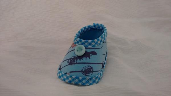 sapato de eva azul