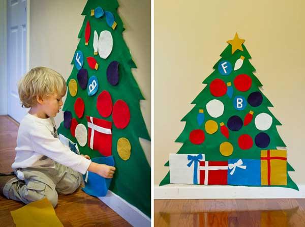 enfeite natalino para parede