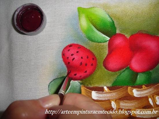 como fazer pintura em pano de prato