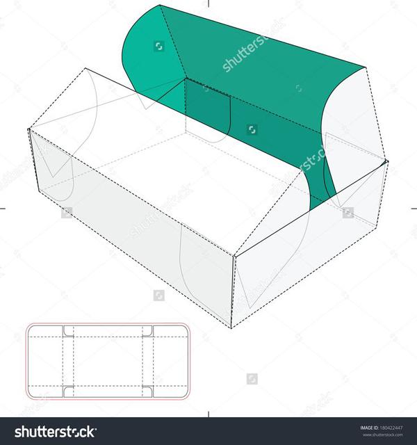 caixa de lembrancinha de papel comum
