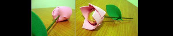 porta bombom rosa