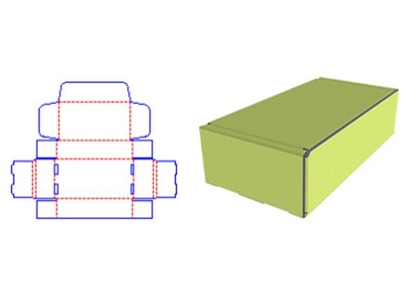 caixa de lembrancinha de papel basica