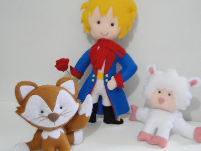 turma do Pequeno príncipe de Feltro