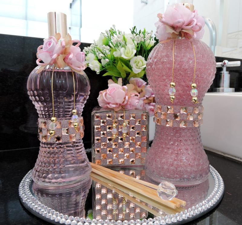 aromatizador de ambientes rosa
